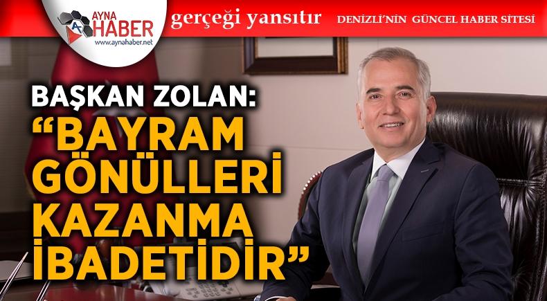 """""""BAYRAM GÖNÜLLERİ KAZANMA İBADETİDİR"""""""